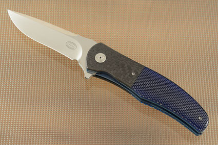 LL13 Flipper with Blue C-Tek and Carbon Fiber (IKBS)