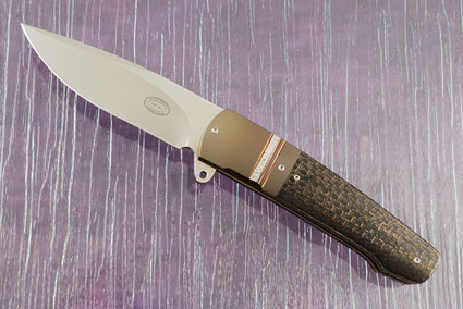 LL07 Flipper with Lightning Strike Carbon Fiber and Zirconium (IKBS)