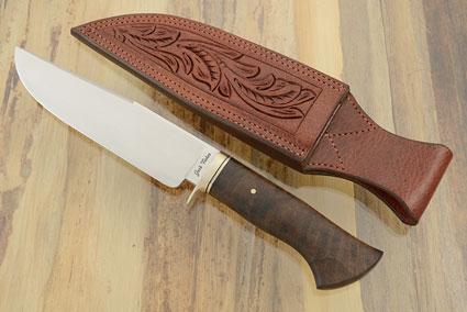 Chute Knife with Walnut