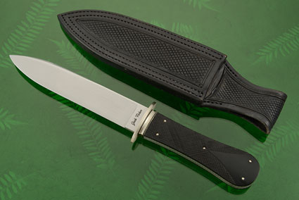 Price Style California Bowie with Checkered Ebony