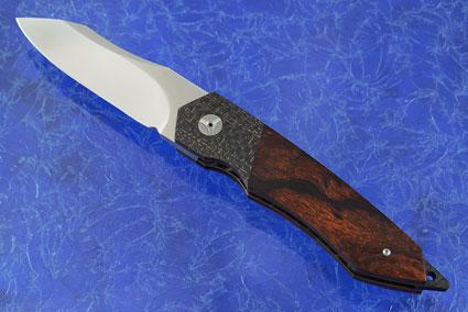 Tactical Front Flipper with Ironwood, Lightning Strike Carbon Fiber, and MoonGlow II (IKBS)