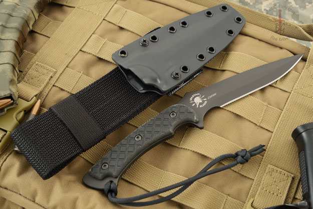 Ares - Black Blade with Black Micarta