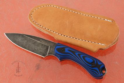 Guardian 3 - 3D Black/Blue G10, Nimbus Blade, Sabre Grind