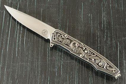 L19S Flipper - Silver Peacock (IKBS)