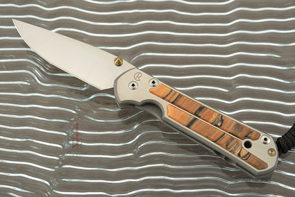 Large Sebenza 21 with Spalted Beech