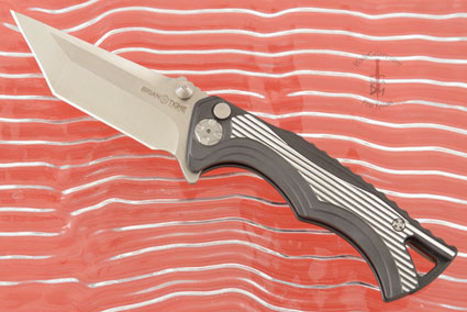 Tighe Fighter, Small with Tanto Blade - Aluminum Handle