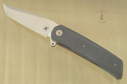 A7 Tanto Flipper with Grey and Orange G10 (IKBS)