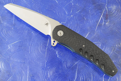 A3 Wharncliffe Flipper with Carbon Fiber (Double Row IKBS)