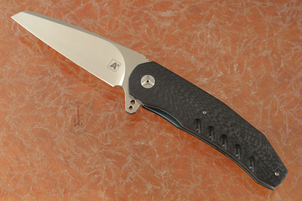 A3 Wharncliffe Flipper with Carbon Fiber (Double Row Ceramic IKBS)
