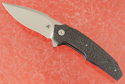 A6 Recurve Flipper with Silver Strike Carbon Fiber (Collaboration with Tashi Bharucha) - IKBS