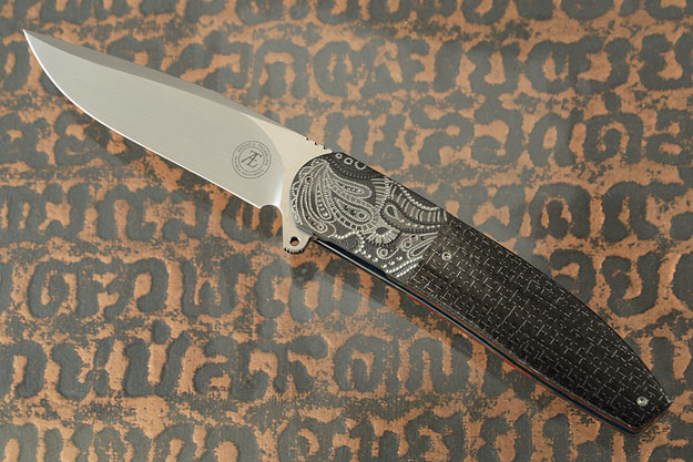 L28L with Silver Strike Carbon Fiber and Zirconium (IKBS)