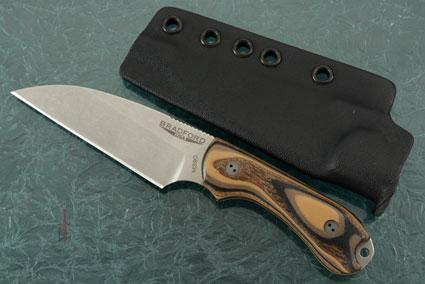 Guardian 3 - 3D G-Wood, Stonewash Blade, Wharncliffe