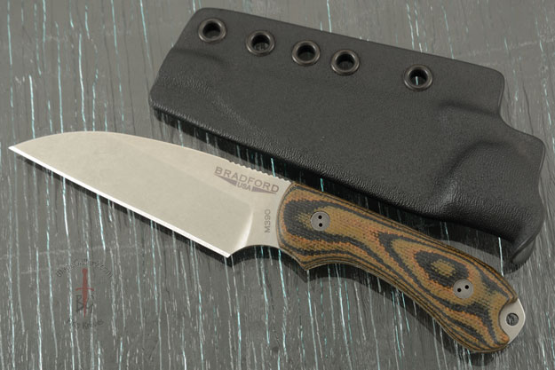 Guardian 3 - 3D Camo Micarta, Stonewash Blade, Wharncliffe