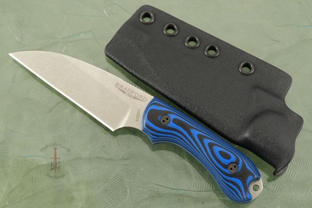 Guardian 3 - 3D Black/Blue G10 Stonewash Blade, Wharncliffe