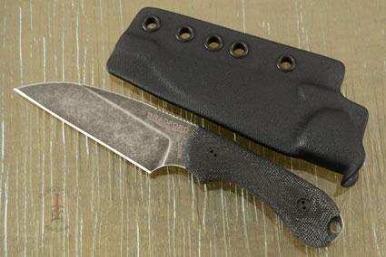 Guardian 3 - 3D Black Micarta, Nimbus Blade, Wharncliffe