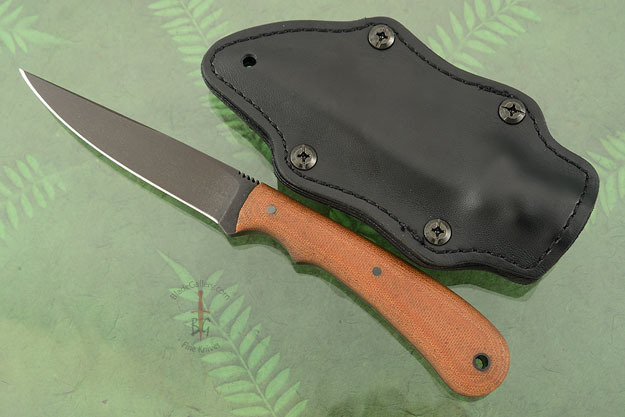 Operator with Tan Micarta and Caswell Finish