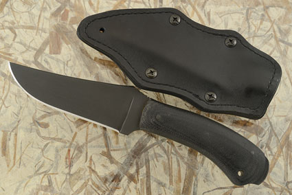 Crusher Belt Knife with Micarta and Caswell Finish