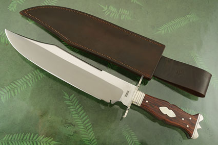 Broomhead and Thomas Replica Bowie with Cocobolo