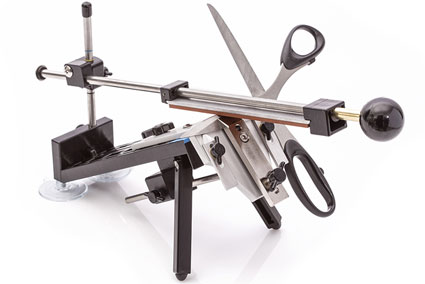 Scissor Attachment for Edge Pro Apex Sharpening System