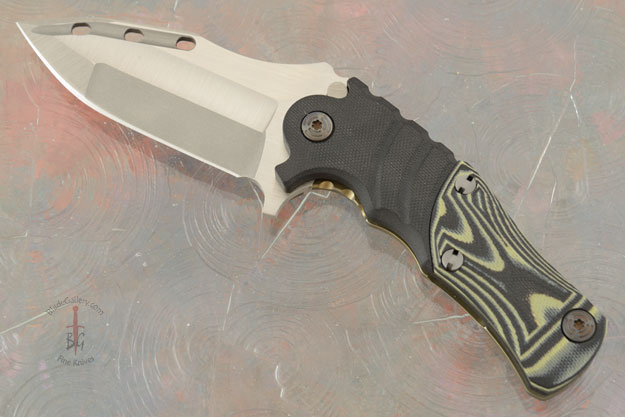 Custom Maddox 3.5 with Stacked Black, OD Green, and Yellow G10