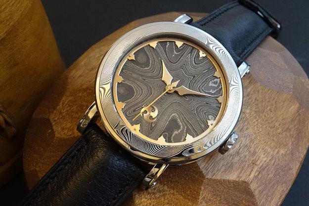 Winter Nights Skeletonized Wrist Watch - Serial No. 4