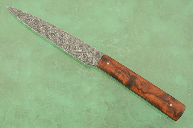 Damascus Kitchen Utility (4-3/4 in) with Ironwood
