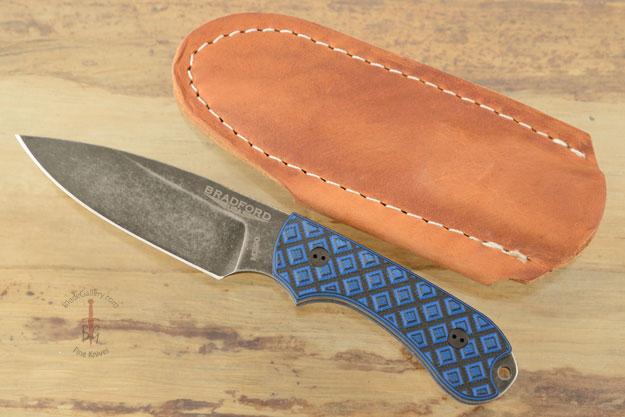 Guardian 3 - Black/Blue G10, Nimbus Blade, Saber Grind