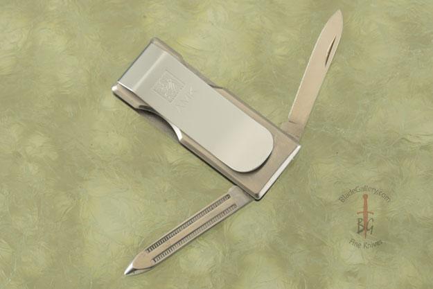 Cash Clip Folding Knife