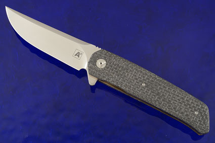 A7 Persian Flipper with Silver Strike Carbon Fiber (IKBS)