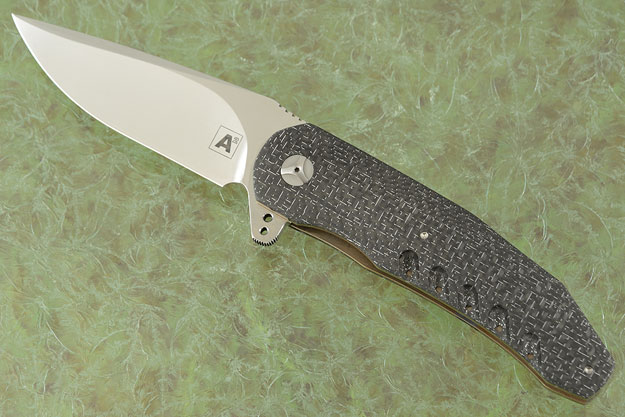 A3 Flipper with 3D Silver Strike Carbon Fiber (Double Row IKBS)