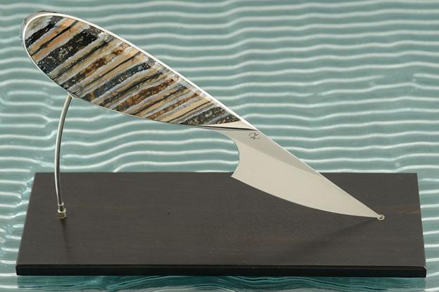 Mammoth Molar <I>Best Fixed Blade</I> - Helsinki Knife Show 2014