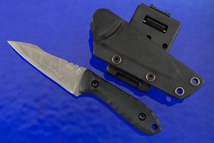 Kawa-Garasu Bird and Trout Knife