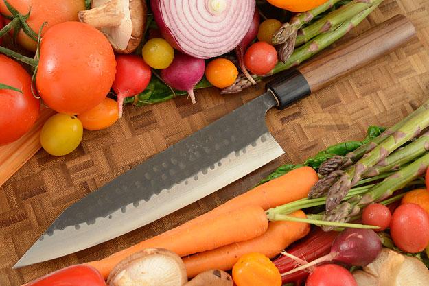 Asai Tojinbo Damascus Chef's Knife - Kiritsuke - 8-1/4 in. (210mm)