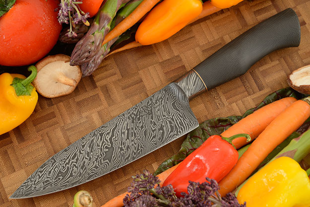 Integral Damascus Chef's Knife (6-1/8