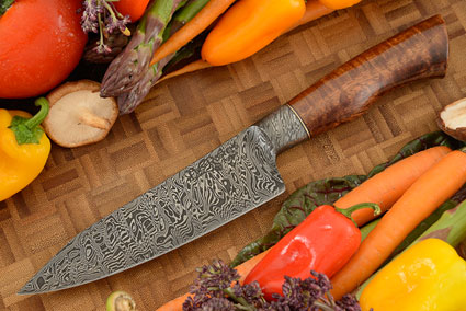 Integral Damascus Chef's Knife (5-3/4