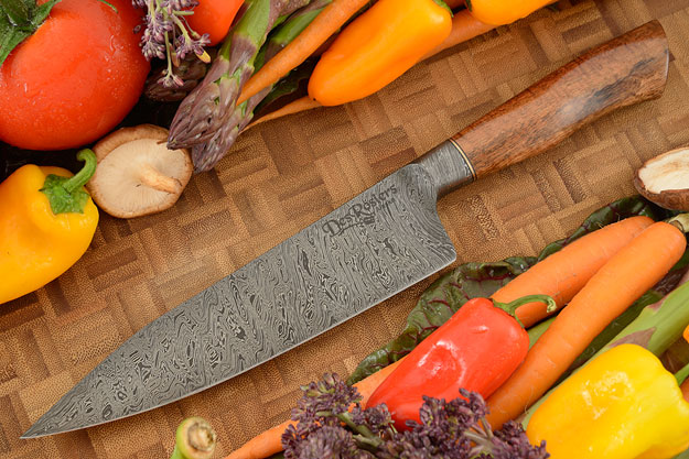 Integral Damascus Chef's Knife (6-3/4