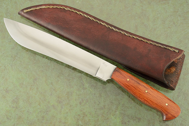 Camp Knife with Sheoak (9-1/3 in.)