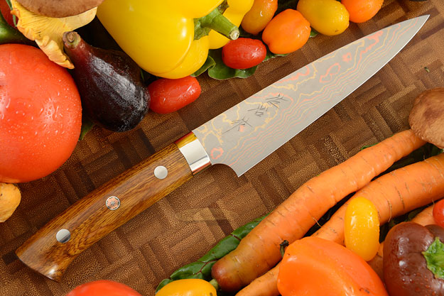 Yushoku Slicing Knife (Petit Gyuto) - 150mm (6in) - with Ironwood