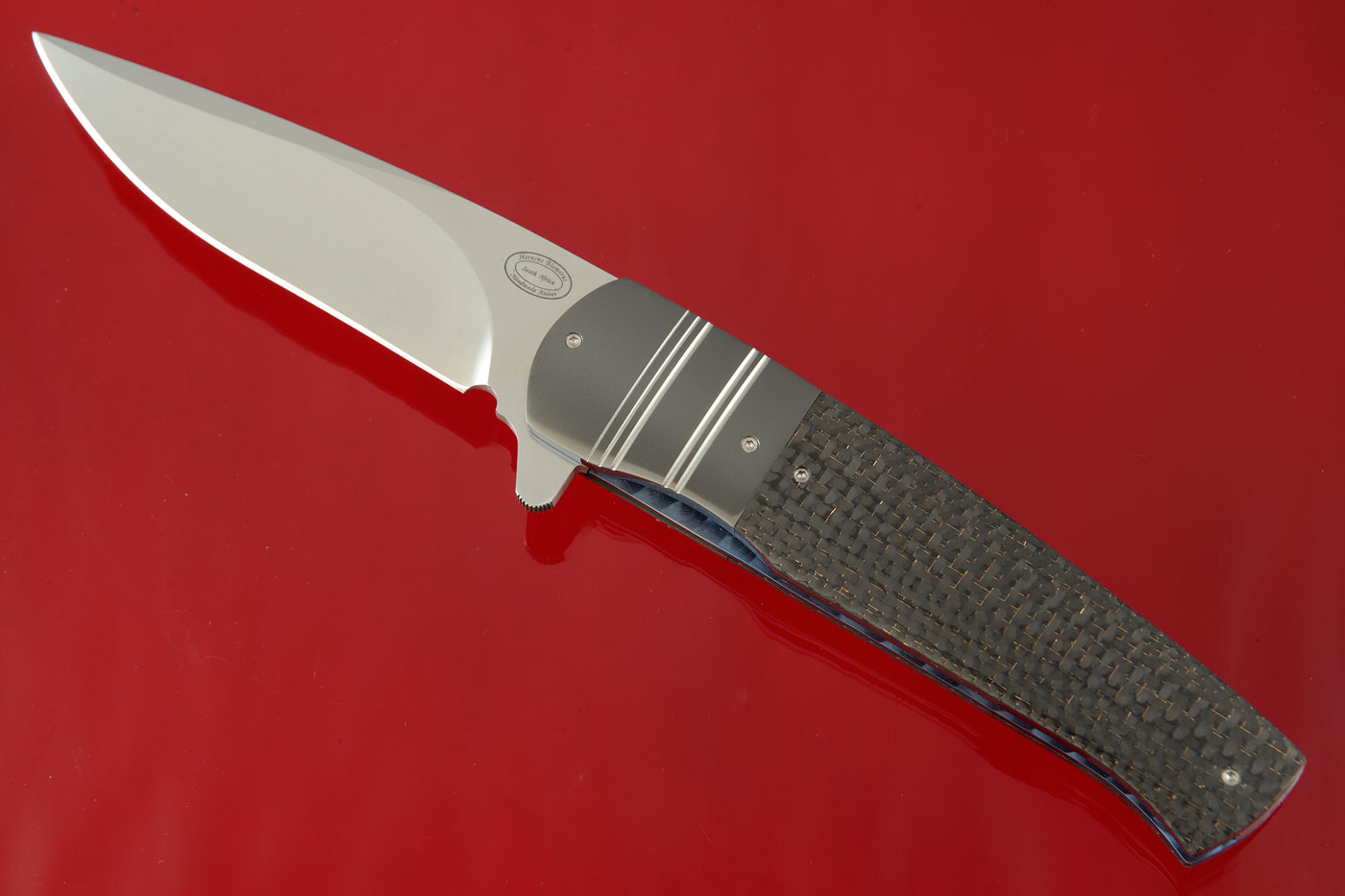 LL11 with Lightning Strike Carbon Fiber and Zirconium (IKBS)