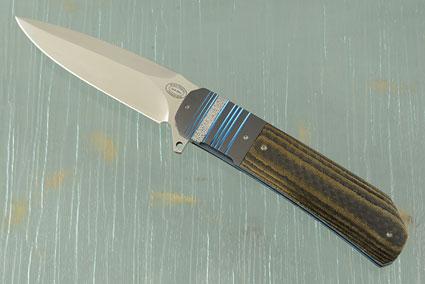 LL14 Flipper with Zirconium and Black/Gold Carbon Fiber (IKBS)