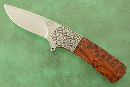 LL15 Flipper with Desert Ironwood and Engraved Bolsters (IKBS)