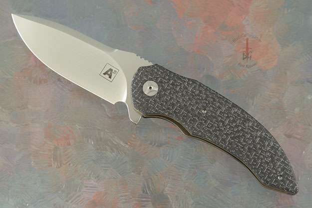 M45 Flipper with Silver Strike Carbon Fiber - A Collaboration with Tashi Bharucha (IKBS)