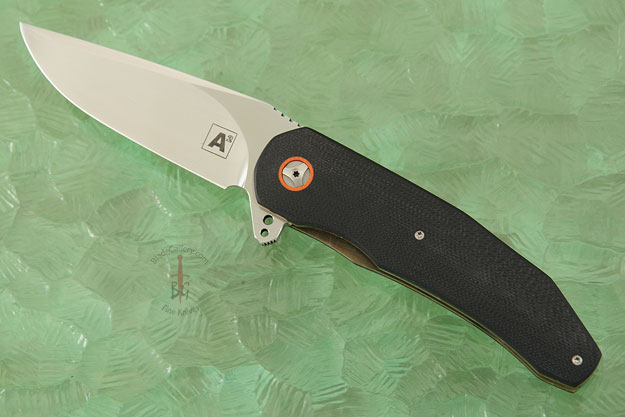 A5 Flipper with Black and Orange G10 (IKBS)