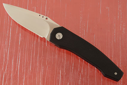 Grizzly Tactical Front Flipper with Textured Black G-10 (IKBS)