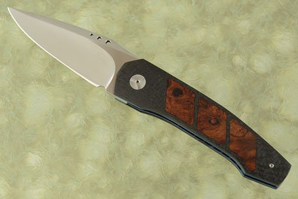 Grizzly Tactical Interframe Front Flipper with Carbon Fiber and Ironwood (IKBS)