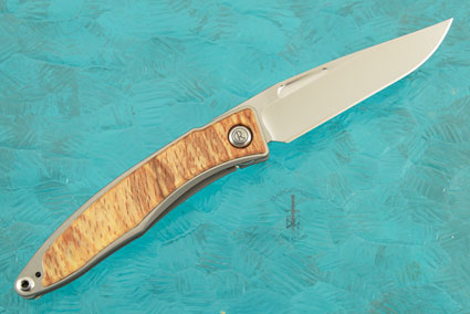 Mnandi with Spalted Beech - Left Handed
