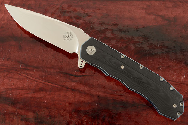 L51 Flipper with 3D Black G-10 (Ceramic IKBS)
