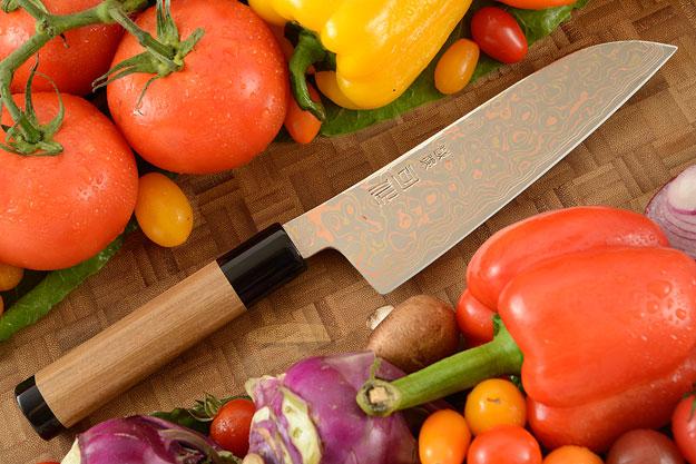 Yushoku Chef's Knife - Santoku - 6-1/2 in. (165mm)