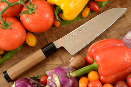 Yushoku Chef's Knife - Santoku - 6-1/2 in. (165mm)