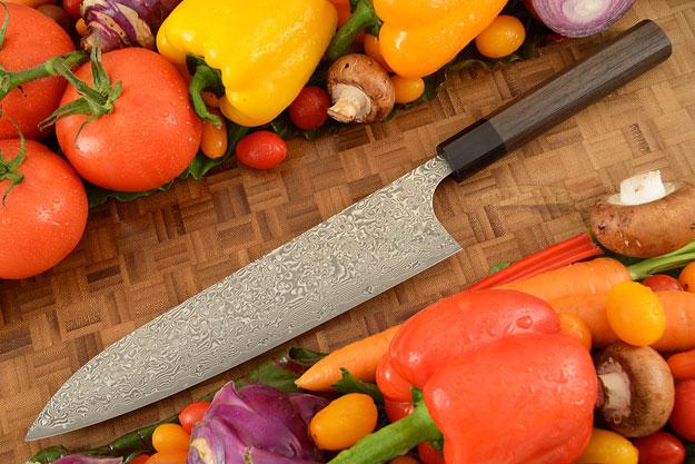 Kintaro Damascus Chef's Knife (Gyuto) - 240mm (9-1/2in)